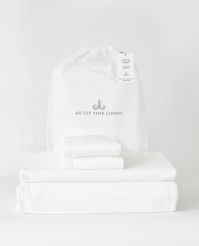 Soft & Comfy Cotton Jersey Bundle White