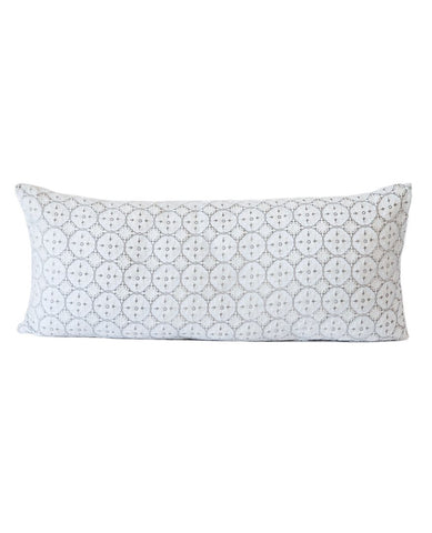 Moroccan Velvet Cushion White