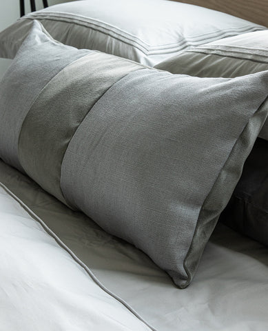 Ming Grey Linen Cushion