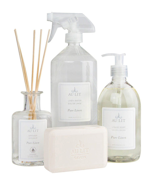 Pure Linen Scented Bath Set with Linen Water
