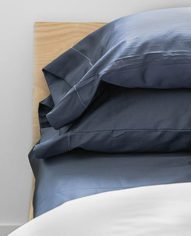 Sateen Midnight Blue