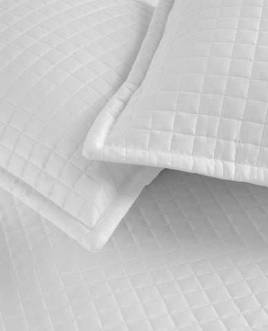 Savoy Quilted White