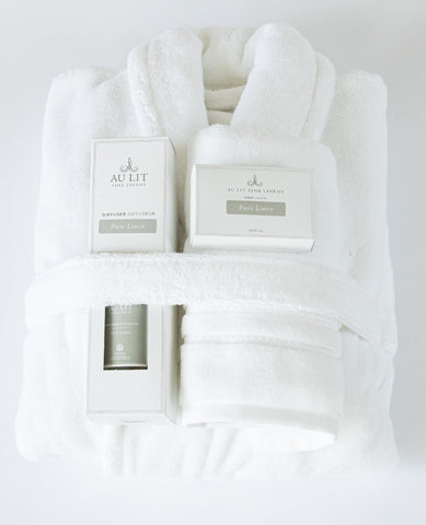 The Cotton Terry Spa Gift Set