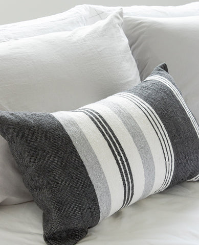 Thick Thin Striped Cushion