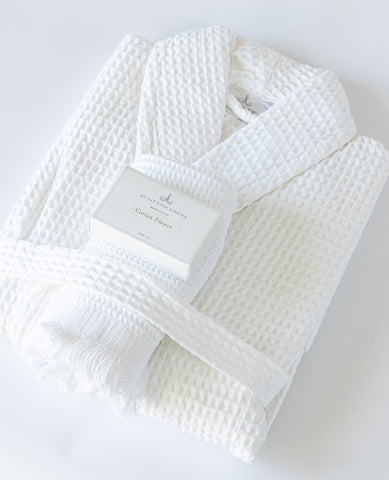 The Cotton Waffle Spa Gift Set