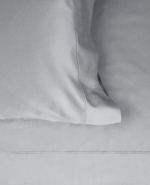 600 Thread Count Cotton Satin Grey