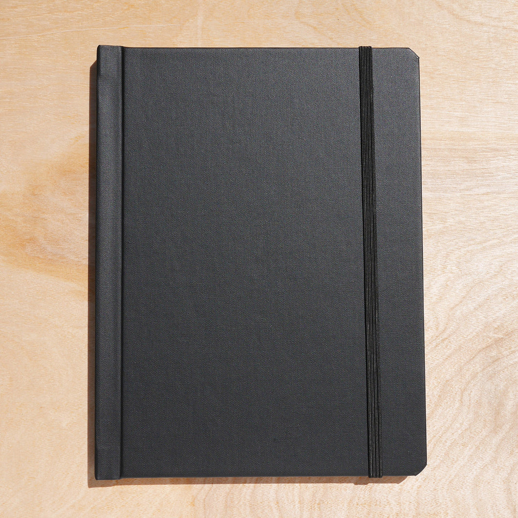 cloth notebinder (black)