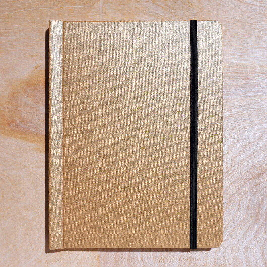 cloth notebinder (gold)