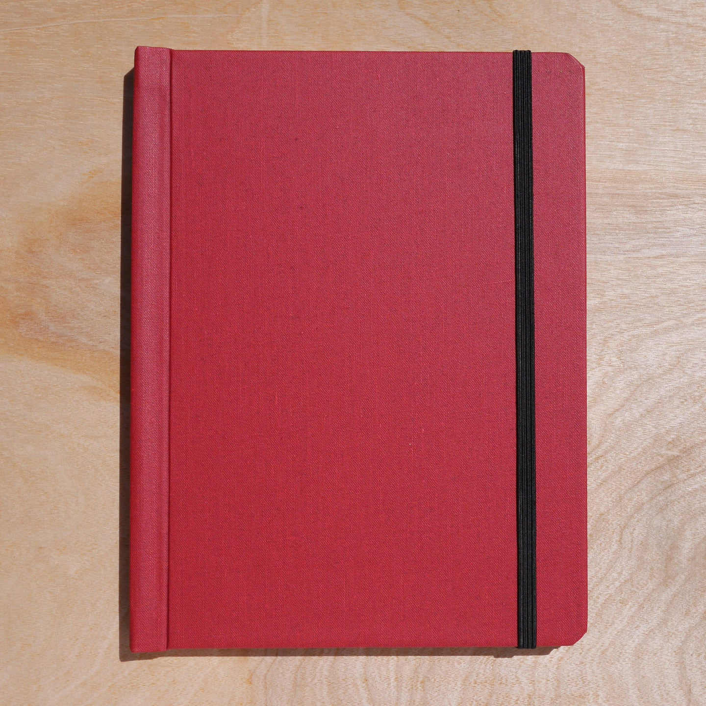 cloth notebinder (red)