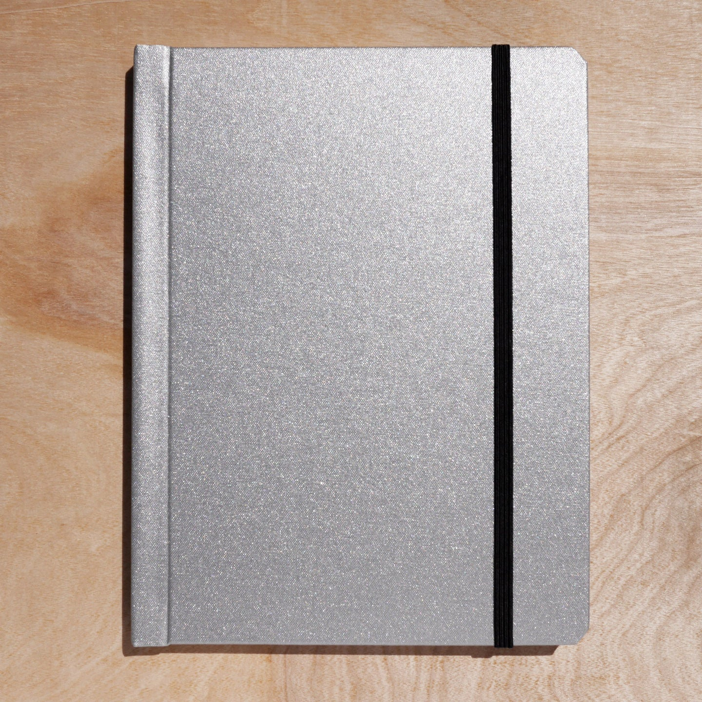 cloth notebinder (silver)