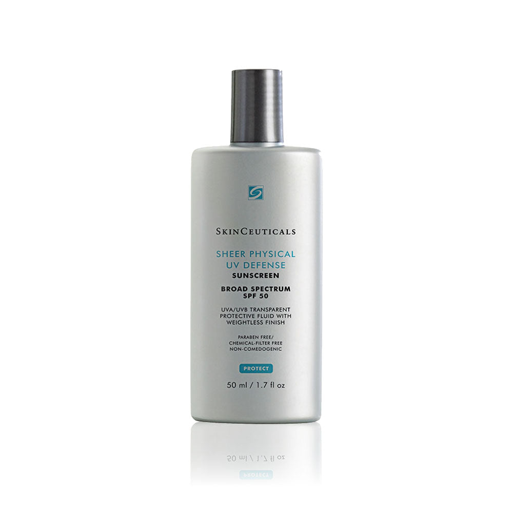 SkinCeuticals SHEER PHYSICAL UV DEFENSE SPF 50 | 透薄清爽防敏UV防曬霜 50ml