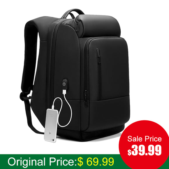 17 Inch Laptop Backpack For With USB Port Travel  Backpacks - tntonlife.com