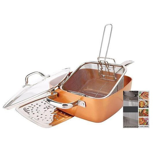 Copper Pan Set - tntonlife.com