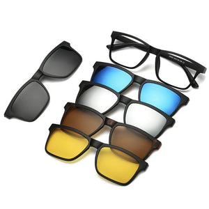 Magnetic Lens Swappable Sunglasses - tntonlife.com
