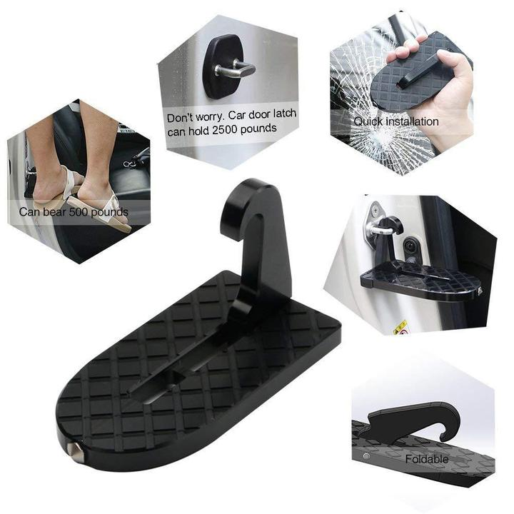 Multifunction Foldable Car Doorstep Latch Hook Anti-slip Mini Foot Pedal Ladder For Jeep Suv Truck Roof Car Rooftop Pedal Sale Price Back To Search Resultsfurniture