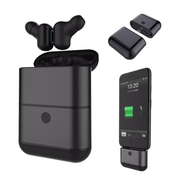 X2-TWS IPX5 Waterproof Bluetooth Earphone With 1600mAh Charger Box Power Bank - tntonlife.com