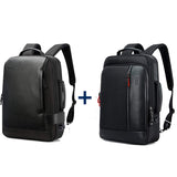 Intelligent Increase Backpack and Anti-Theft Laptop Rucksack with USB Charging Business Laptop Backpack for Men Water Resistant College Backpack - tntonlife.com