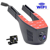Full HD 1080P Wide Angle Mini Hidden WIFI Car DVR Auto Dash Camera Video Registrator Recorder - tntonlife.com