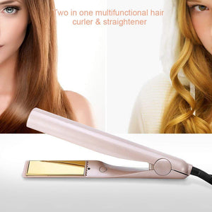 2-In-1 Hair Curler & Straightener - tntonlife.com