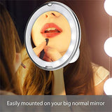 10X Magnifying LED Makeup Mirror - tntonlife.com