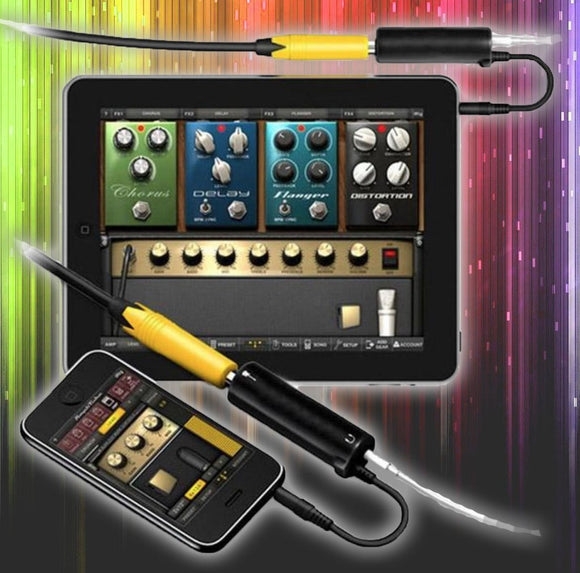 Amazing Smart Phone & Tablet Guitar Interface Converter - tntonlife.com