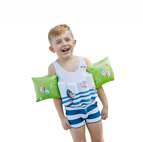 Kingswell Kids Float Suit with Removable Buoyancy Float