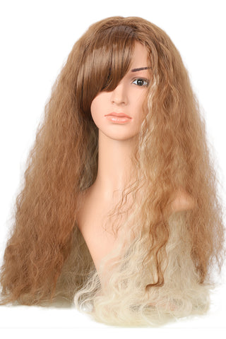 Xcoser Harry Potter Hermione Granger Long Wavy Brown Wig