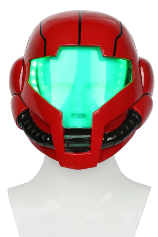 Xcoser Metroid Samus Aran Helmet with LED Light