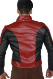 XCOSER Spider Man Cosplay Red PU Jacket