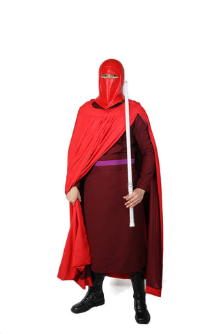 XCOSER Star Wars Cosplay Emperor's Royal Guard Red Costume