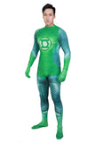 Halloween Cosplay XCOSER Green Lantern Hal Jordan Full Body Zentail Cosplay Costume