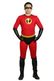 Xcoser The Incredibles 2 Cosplay Mr. Incredible Full Body Costume