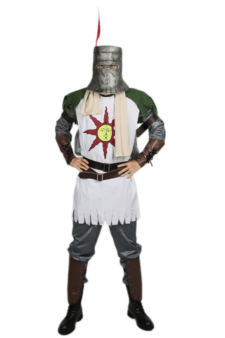 Xcoser Dark Souls Solaire Forever Sun Warrior Cosplay Costume