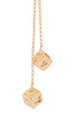 Xcoser Solo: A Star Wars Story Cosplay Han Solo Golden Dice Pendant