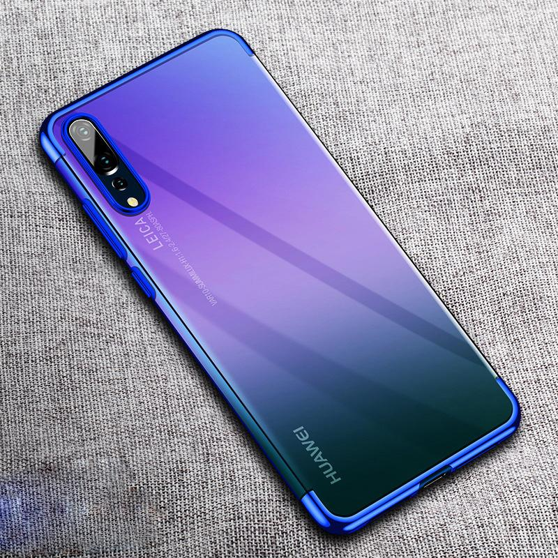 buy online 87f62 7a737 Luxury Plating Soft Cases for Huawei P20 / P20 Pro / Lite