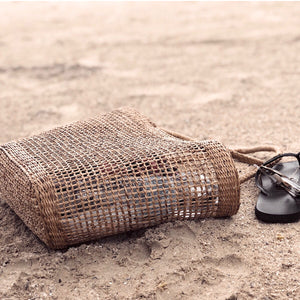 Perfect straw bag