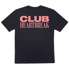 CLUB HEARTBREAK TEE (BLACK/PINK) + UPGRADE