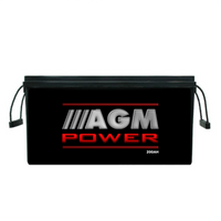 200AH 12V Battery AGM Power Deep Cycle Charge Sealed Portable Charge