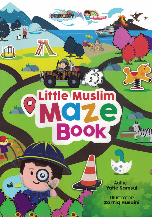 Little Muslim Maze Book