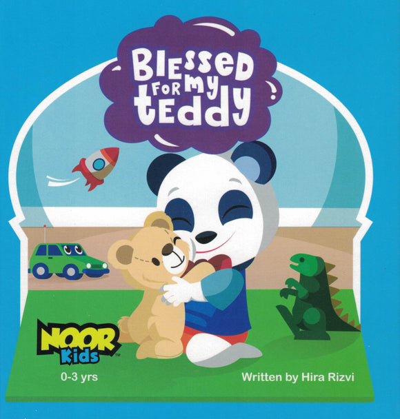 Blessed For My Teddy - Noor Kids - Sakeena Books