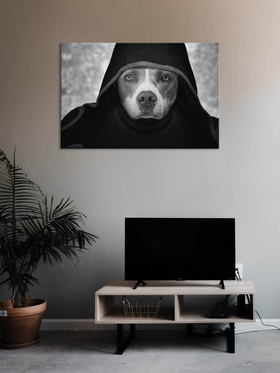 The Dark Side - Custom Canvas Pet Art Work