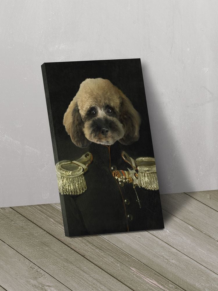 The Emperor - Custom Canvas Pet Art Work
