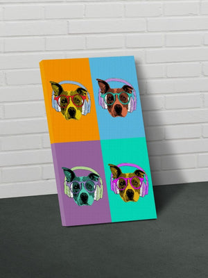 The Pop Art Pet - Custom Canvas Pet Art Work