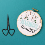 Adventure Awaits Embroidery Hoop