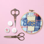 Basic Coffee Embroidery Hoop
