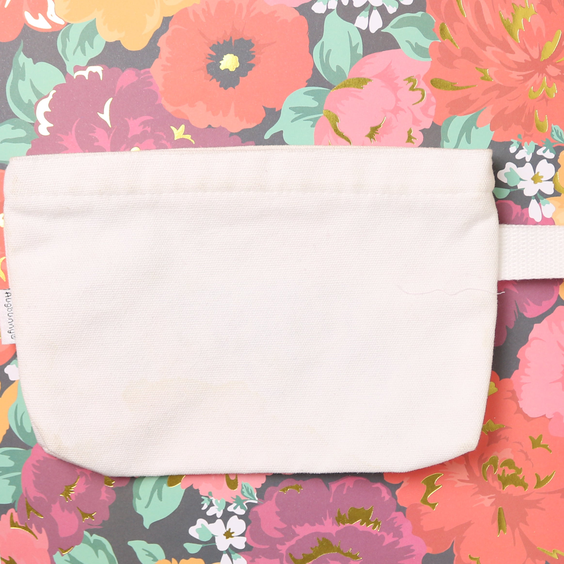 Protect Your Magic Embroidered Zipper Pouch