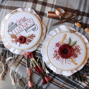 Take Time to Smell the Roses PDF Embroidery Pattern
