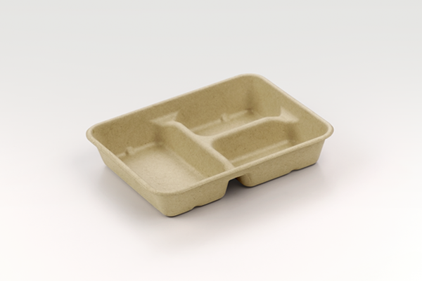Utility Tray - 28 oz 3 Compartment