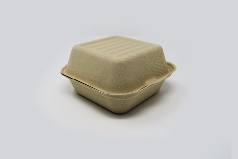 Clamshell - 6 inch 1 Compartment
