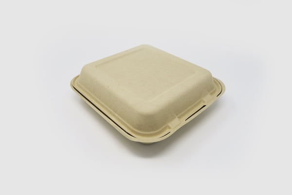 Clamshell - 8 inch 1 Compartment